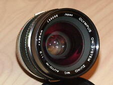 OLYMPUS OM ZUIKO 35mm F2 LENS LATER MC VERSION PERFECT CONDITION