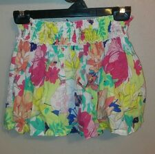Old Navy Girls Flowy Floral Skirt Size Small 6-7