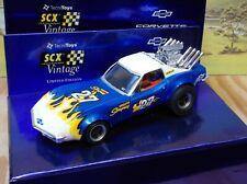SCX Slot Car Chevrolet Corvette Stingray Dragster #27 Scale 1 32