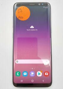 Samsung Galaxy S8 SM-G950U 64GB Orchid Gray AT&T Smartphone Poor Condition