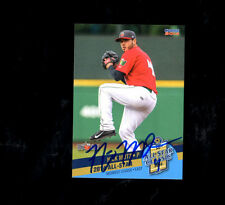 Nick Mutz  2014 Midwest League All Star Ft Wayne auto signed card