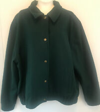 Vintage Pendleton Jacket 100% Virgin Wool Green Xlarge