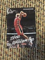 2019-20 Panini Chronicles ZION WILLIAMSON Luminance #143 RC Rookie Card Pelicans