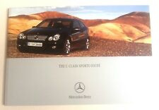 Mercedes . C Class . C Class Sports Coupe . January 2005 Sales Brochure
