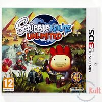 Jeu Scribblenauts Unlimited [VF] sur Nintendo 3DS NEUF sous Blister