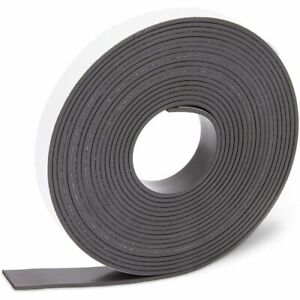 Magnetic Strip with Adhesive Backing (0.5 in, 12 ft)
