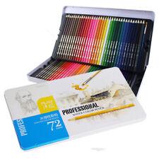 72 Color Drawing Oil Soft Core Colored Pencils set for Artist Sketc Set
