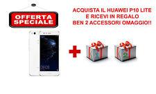 SMARTPHONE HUAWEI P10 LITE WHITE BRAND + COVER E PELLICOLA OMAGGIO!!