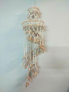 Strombus Sea shell chime. 60cm Chandelier. Mobile. Beach boho