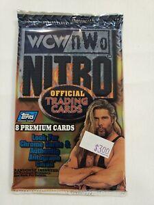 1999 Topps WCW nWo Nitro Wrestling Sealed Pack 8 Cards