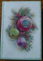 Lot of 17 Unused Vintage Coronation Christmas Greeting Cards BIN All Envelopes