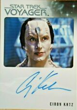 Star Trek Voyager Heroes & Villains Cindy Katz as Kejal Auto Card
