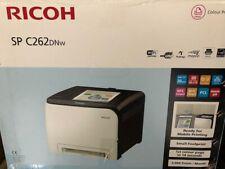 Ricoh Aficio Sp C262DNw Colour Laser Printer Laser Network WLAN New Boxed