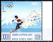 ARMENIA 2018-04 Winter Olympic Games, South Korea. Skiing, MNH