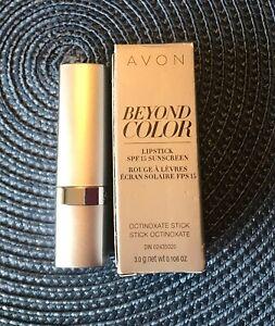Avon Beyond Color Lipstick SHOCKING PINK with SPF 15 NIB