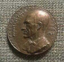 Manuel de Falla Bronze Portrait Medal, Paris Mint