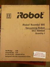 iRobot Roomba 895 Wi-Fi Robotic Vacuum w/ Virtual Wall Brand New in Box Sealed