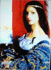 LADY IN BLUE ~ NEW Counted Cross Stitch KIT #ML35