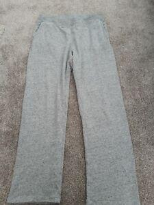 Ladies Uniqlo Grey Marl Jogging Bottoms Size XL 14-16