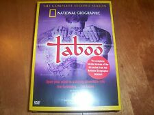 TABOO THE COMPLETE SECOND SEASON 2 National Geographic Channel 4 DVD SET NEW