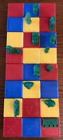 Vintage Tupper Ware Toys Busy Blocks Alphabet~24 Blocks & 13 Figures A To Z