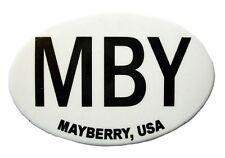 Mayberry MBY North Carolina Oval Fridge Magnet