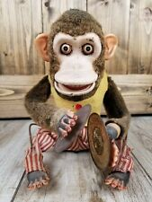 Vintage Daishin Japan Musical Jolly Chimp Toy Story Monkey~ DOES NOT WORK