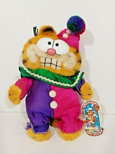 "Garfield Clowning Around  9"" Plush #31-0855 with Tag"