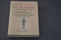 L'initiation à la musique. A l'usage des Amateurs de Musique et de Radio. (K1)