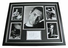 Charlie Watts SIGNED FRAMED Photo Autograph Huge display Rolling Stones & COA