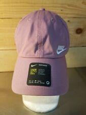 Womens Nike Purple Lavender Heritage 86 Adjustable Baseball Cap, New