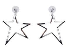 MARNI H&M Silver Star Earrings