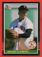 1985 Donruss #273 Roger Clemens EX/EX+ WRINKLE MARKED ROOKIE RC Boston Red Sox