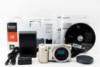 Sony Alpha NEX-5 14.2MP Mirrorless Digital Camera Body Japanese Menu Only