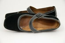 Natural Soul By Naturalizer Women Black Mary Jane Leather Shoe Size 9
