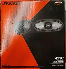"""Kicker 44KSC41004 4x10"""" Coaxial Speakers"""
