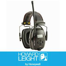 Howard Leight SYNC Digital AM/FM Radio, MP3 input Earmuffs BLACK Class 5 1030330