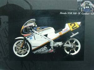WOW EXTREMELY Honda NSR500 #2 Gardner World Champion 1987 1:12 Minichamps-Wit's