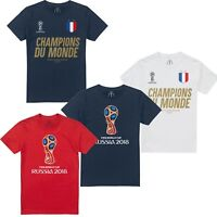 France Football World Cup Winners - Russia 2018 - Official FIFA Licensed T-Shirt