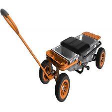 AeroCart Wagon Kit Worx Garden Cart Attachment Home Outdoor Work Tools Equipment