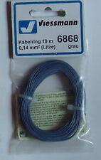 Viessmann 6868 Anneau de câble 0,14 mm², gris, 10m (1M =