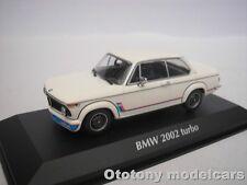 BMW 2002 TURBO 1973 WEISS 1/43 MAXICHAMPS 940022201 NEU