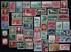 Germany - DDR 1957 - 1959 Complete Sets - USED
