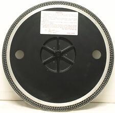 Technics SL-1300 Platter and Rubber Mat