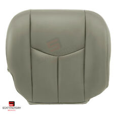 2004 2005 Chevy Silverado Right Front Side Bottom Vinyl Seat Cover Pewter Gray