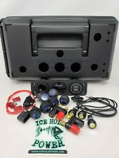 Ice Hole Power 12v Portable Power Box Component Kit WITH precut box ice fishing