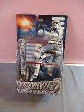 "STORMTROOPER Star Wars Unleashed Collection Art Card 6"" inch Figure Hasbro 2004"