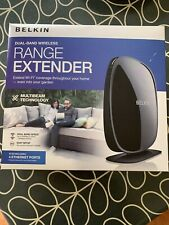 Belkin Dual Band Wireless Wifi Wi-Fi Range Extender