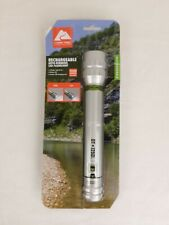 Flashlight Rechargeable 1250 Lumen Auto-Dimming LED USB Charging Cord Included