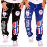 Herren Jeans Chino Hose dicke Nähte Naht Destroyed Clubwear schwarz Norway NEU